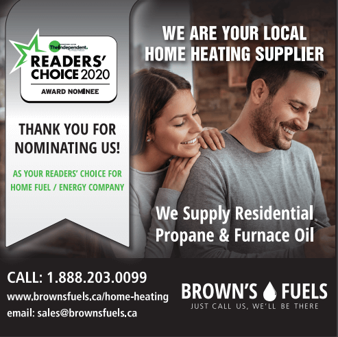 Brown's Fuels Readers Choice