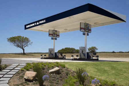 Brown's Fuels Refueling Station